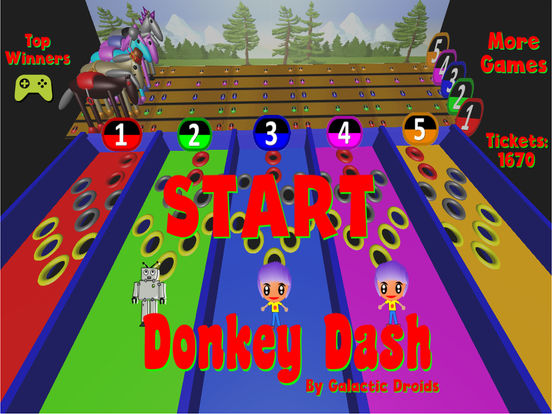 Donkey Dash Derby Pro screenshot 8