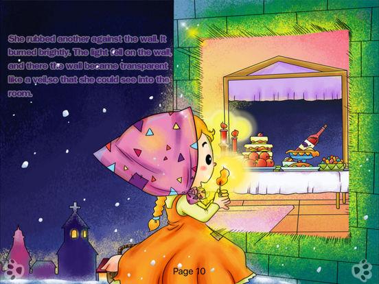 iBigToy Interactive Book-The Little Match Girl HD Lite iPad Screenshot 5