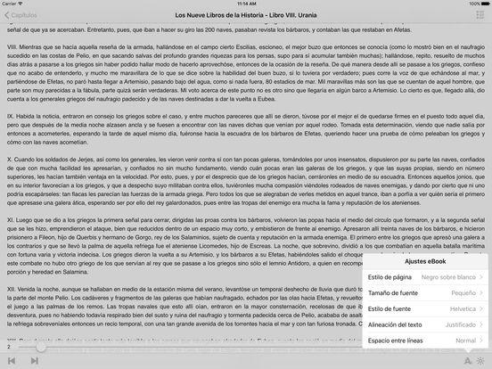 Los Nueve Libros de la Historia - Heródoto iPad Screenshot 2