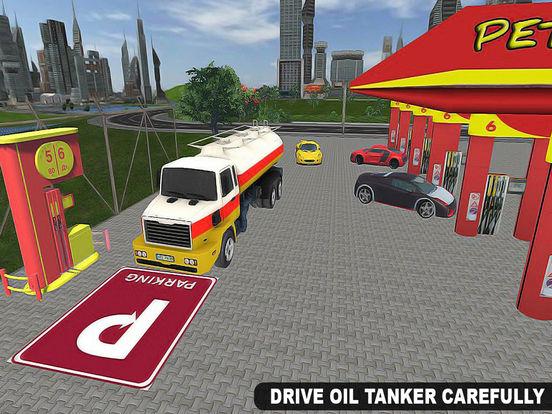 Drive City Oil Transporter Truck Pro screenshot 7