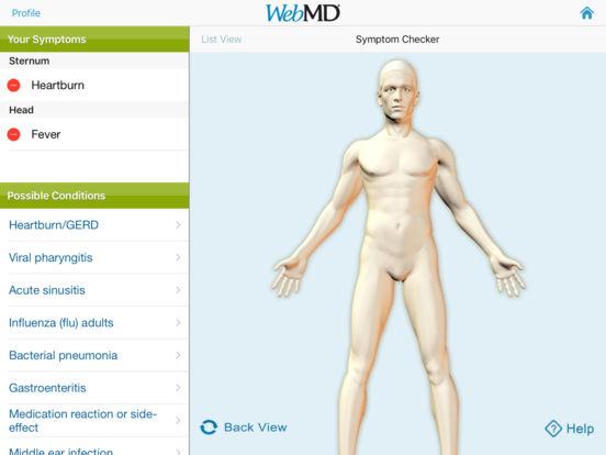 WebMD for iPad iPad Screenshot 2