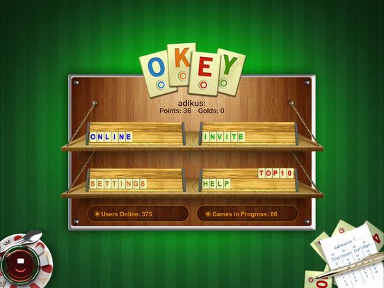 OkeyOnline iPad Screenshot 1