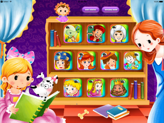 10 Books Classic Bedtime Fairy Tales iBigToy Screenshots