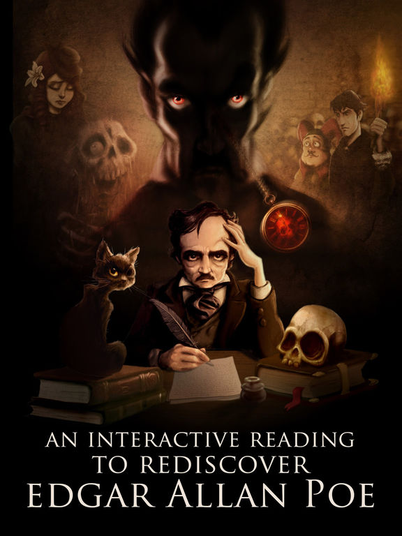 Screenshot #1 for iPoe 3  – Edgar Allan Poe Immersive Stories