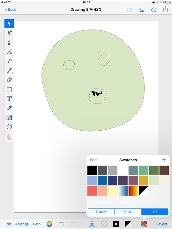 drawingpad draw paint doodle sketch apprecs. Black Bedroom Furniture Sets. Home Design Ideas