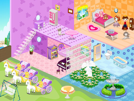 app shopper real princess doll house decoration game