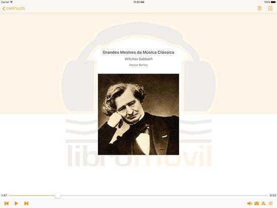 Grandes Mestres da Música Clássica (Biografia e Música) iPad Screenshot 1