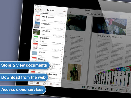 Files HD : Document Reader iPad Screenshot 1