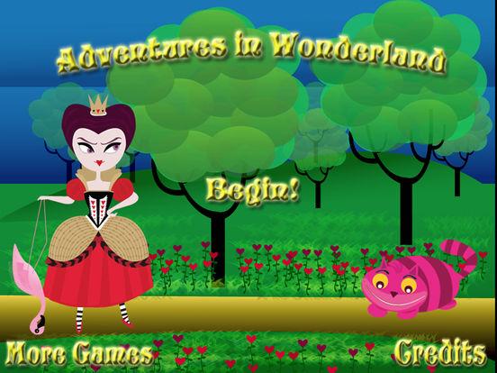 Adventures in Wonderland iPad Screenshot 3