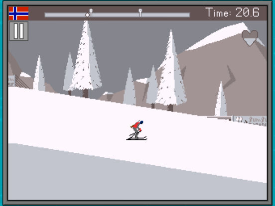 Retro Winter Sports 1986 Screenshots