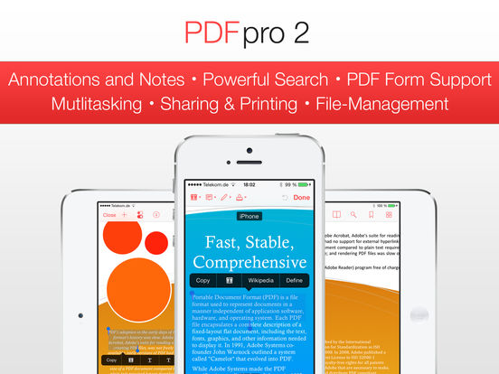 PDF Pro 2 - The ultimate PDF app Screenshots
