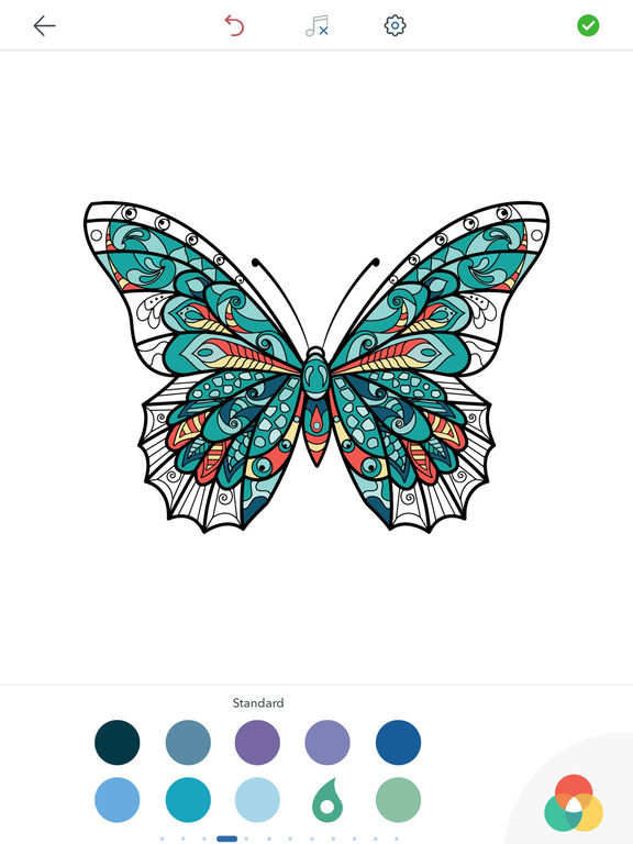 App Shopper Butterfly Coloring Pages For Adults