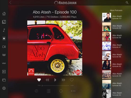 Radio Javan iPad Screenshot 3