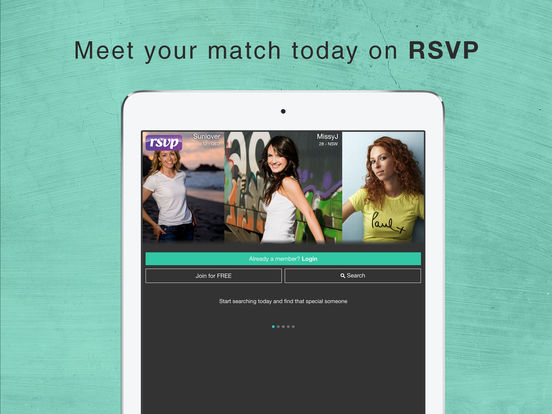 rsvp dating australia login