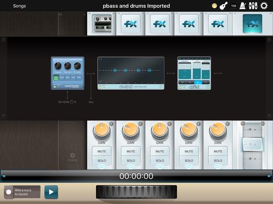 StudioTrack iPad Screenshot 2