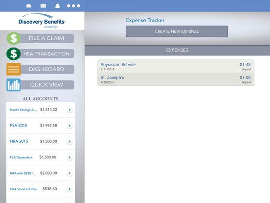 Discovery Benefits Mobile iPad Screenshot 3