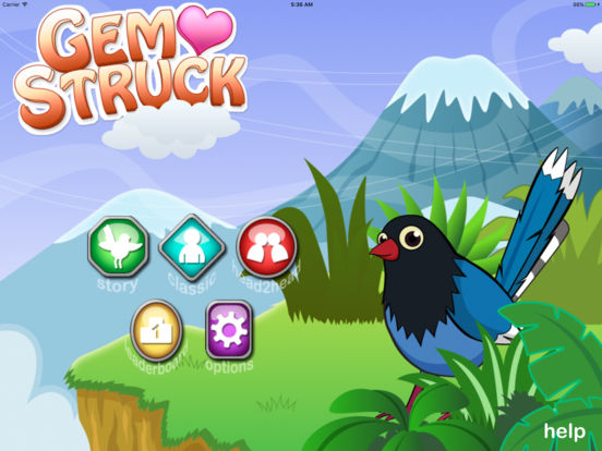 Gem Struck iPad Screenshot 1