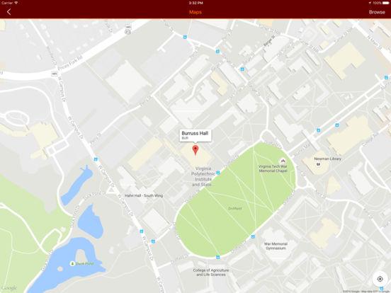 Hokie Mobile iPad Screenshot 2