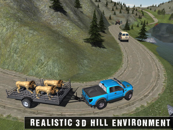 Скачать игру Off Road Animal Transporter 4x4