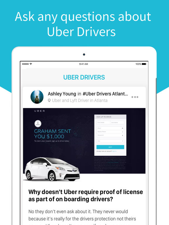 Driver for Uber - App for Uber Drivers screenshot