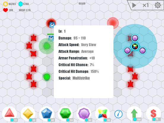 Gem Defense:Battle Of Monsters Screenshots