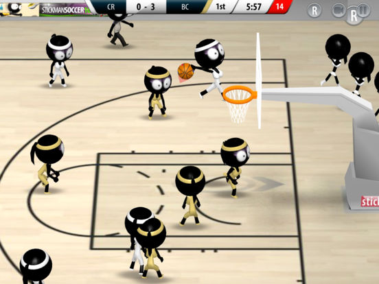 Stickman Basketball 2017 Screenshots