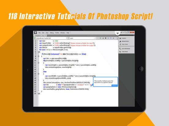 Interactive Tutorials For Photoshop Script Screenshots