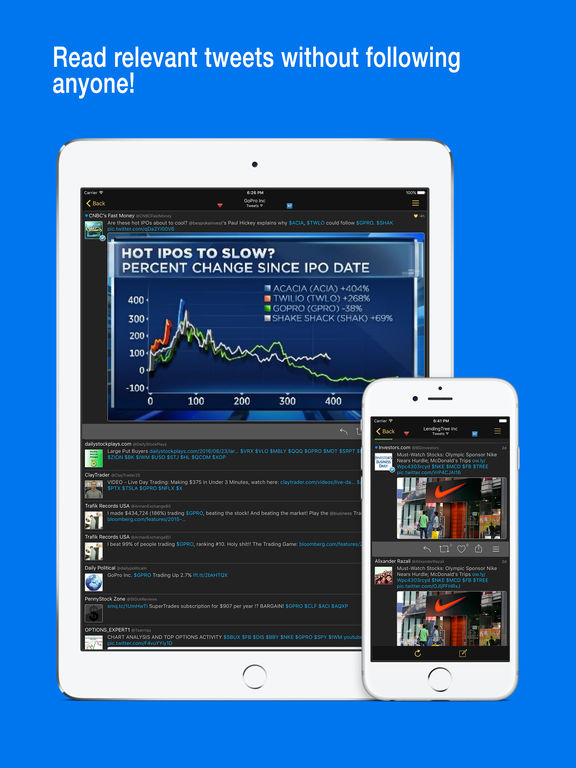 Stocks Live - Portfolio Manager with Sync n Trade Screenshots