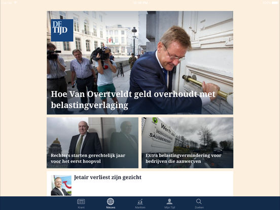 De Tijd iPad Screenshot 5
