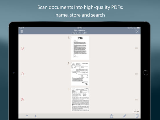 TurboScan™ Pro - document & receipt scanner: scan multiple pages and photos to PDF Screenshots