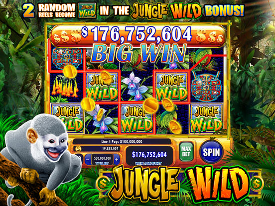 Jackpot Party Casino Slots- HD Slot Machine Games iPad