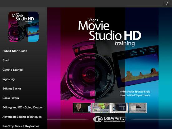Vegas Movie Studio HD Volume #1 from VASST iPad Screenshot 1