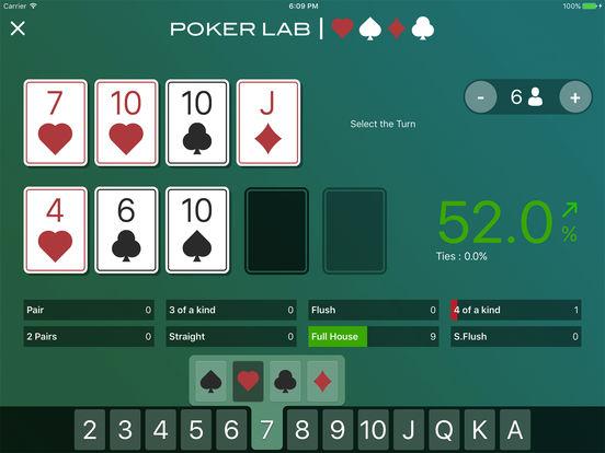pokerLab. Premium iPad Screenshot 4