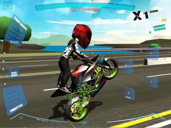Stunt Bike Freestyle для iPad