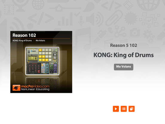 KONG: King of Drums 101 iPad Screenshot 1