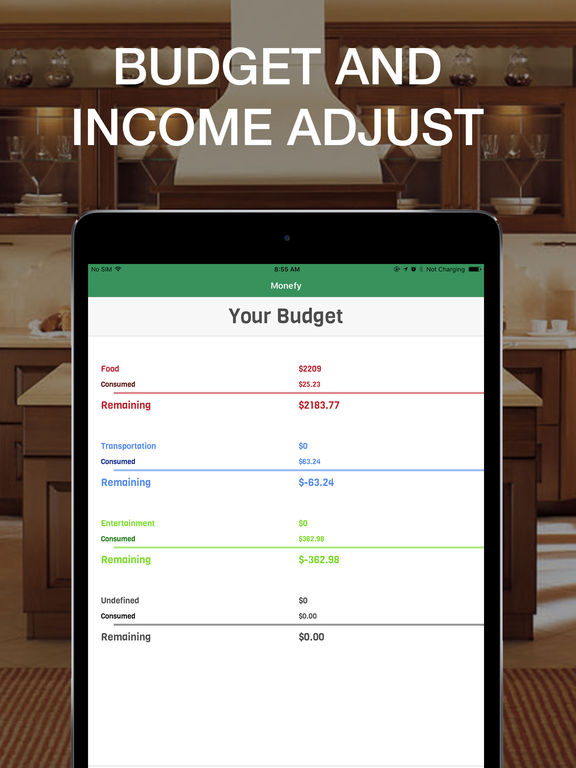 Monefy - Best budget savings and money organiser Screenshots