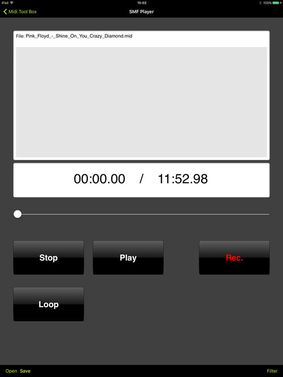Midi Tool Box Screenshots