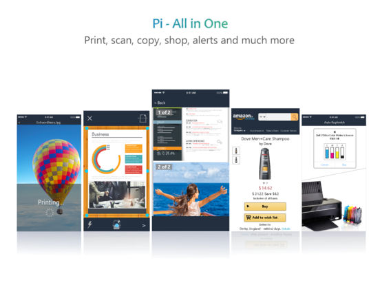 Pi All-in-One Printer, Scanner & Shopping Pro App screenshot