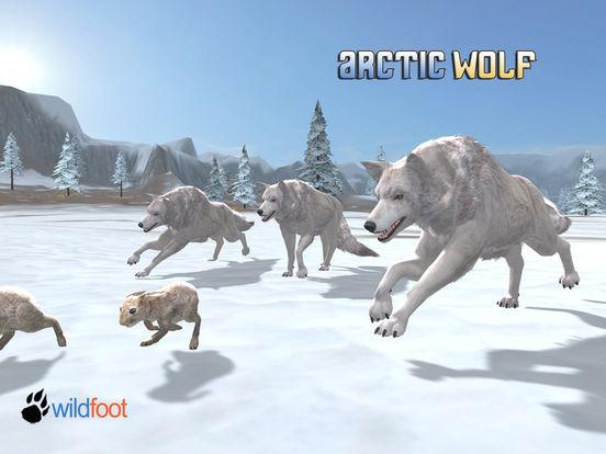 Arctic Wolf на iPad