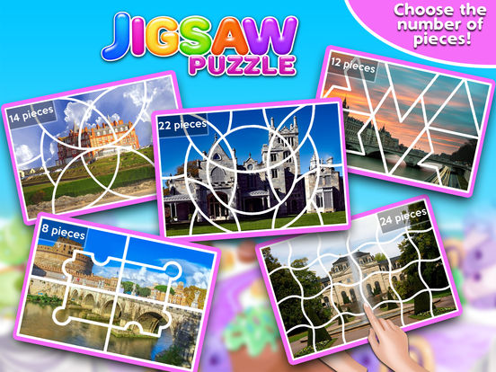 Screenshot #1 for Princess Castle Jigsaw Puzzle - Jiggy Puzzle Pack