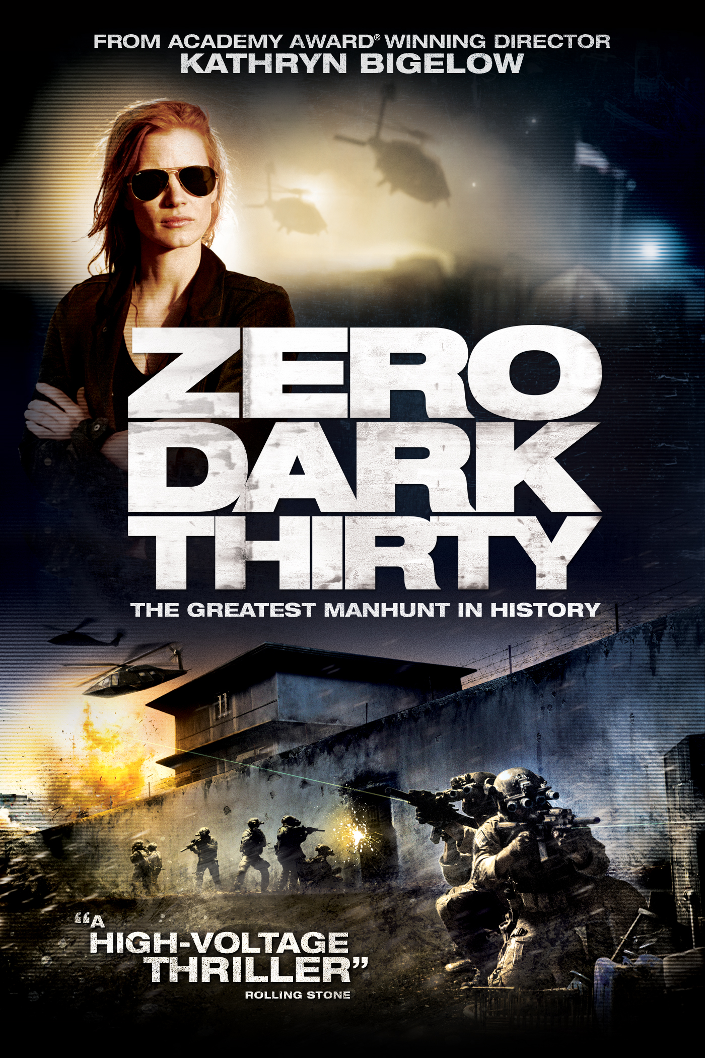 on the film zero dark thirty Zero dark thirty, after earning five oscar nominations including best  while  some of the movie's details differ slightly—maya is recruited out of.