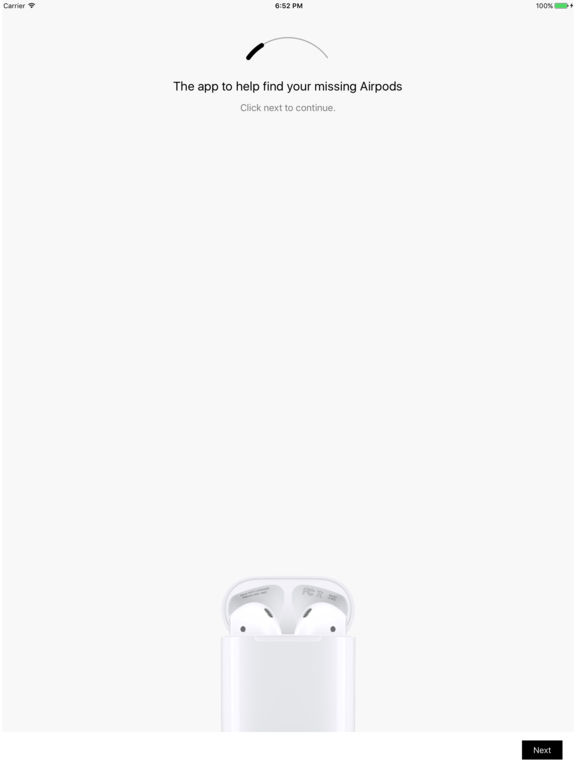 Finder for Airpods - find your lost Airpods Screenshot