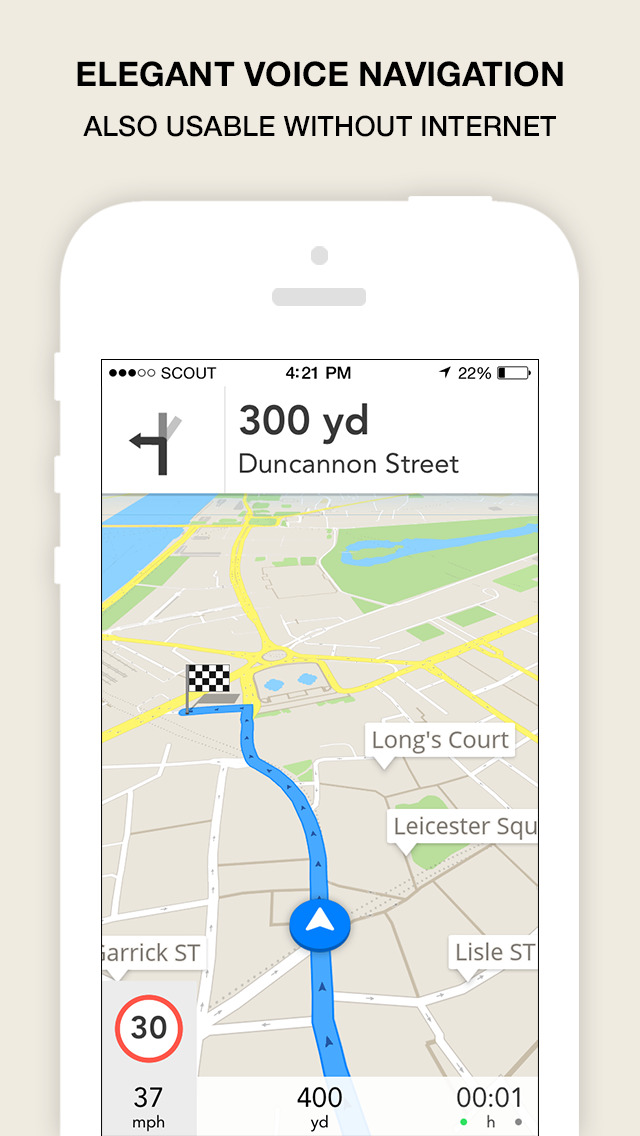Scout Navigation & Maps (UK) screenshot #1
