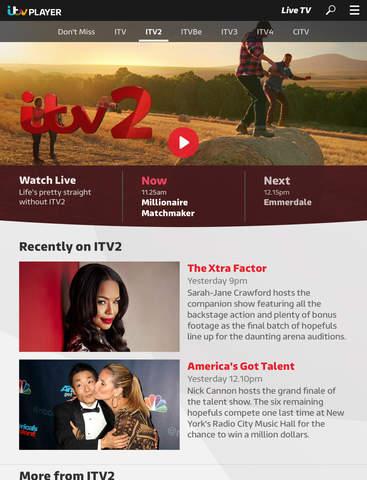 ITV Hub: TV Player & Catchup screenshot #2