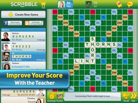 SCRABBLE™ Premium for iPad screenshot #4