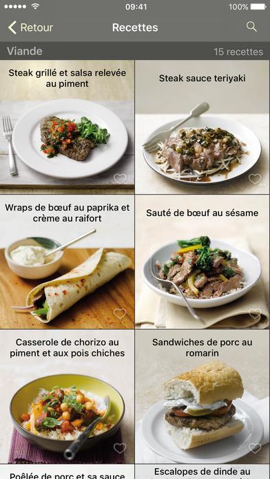 Screenshot Cuisine visuelle