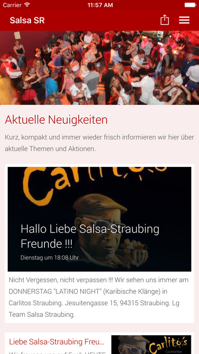 SALSA Straubing screenshot 1