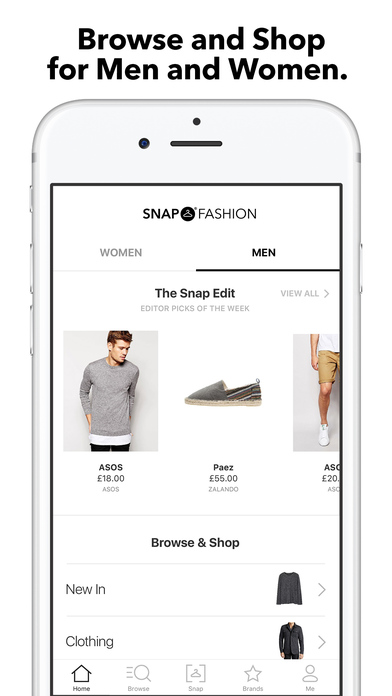 Sell and Buy Used Clothes Via iPhone App
