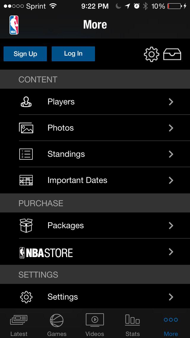 NBA: Live Games & Scores screenshot 3