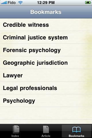 Forensic Psychology Study Guide screenshot #3